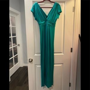 IMAN Green Maxi Dress
